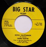 "45Re ✦ CHUBBY MARTIN ✦ ""Soul Salesman / It's Not A Man's World"" R&B Crossover ♫"